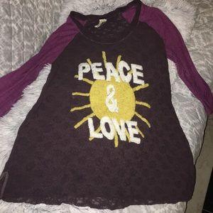 FREE PEOPLE 3/4 shirt